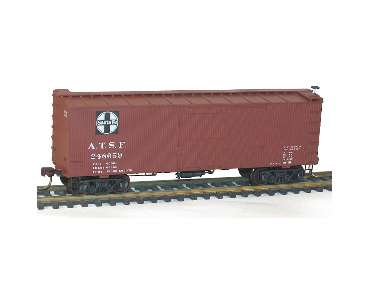 Accurail HO KIT 36' Double Sheath Wood Box, SF (3)