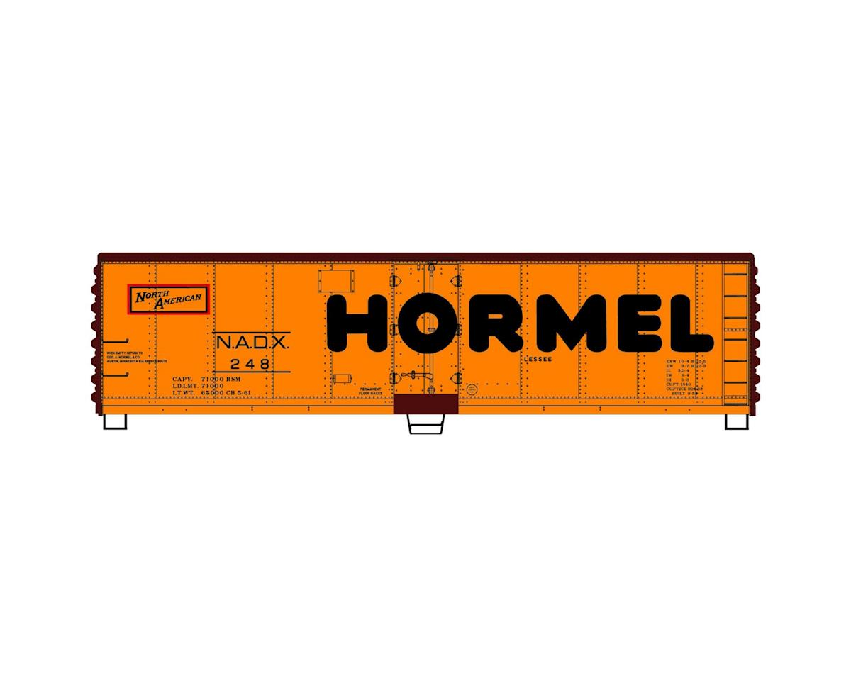 HO KIT 40' Steel Reefer, Hormel