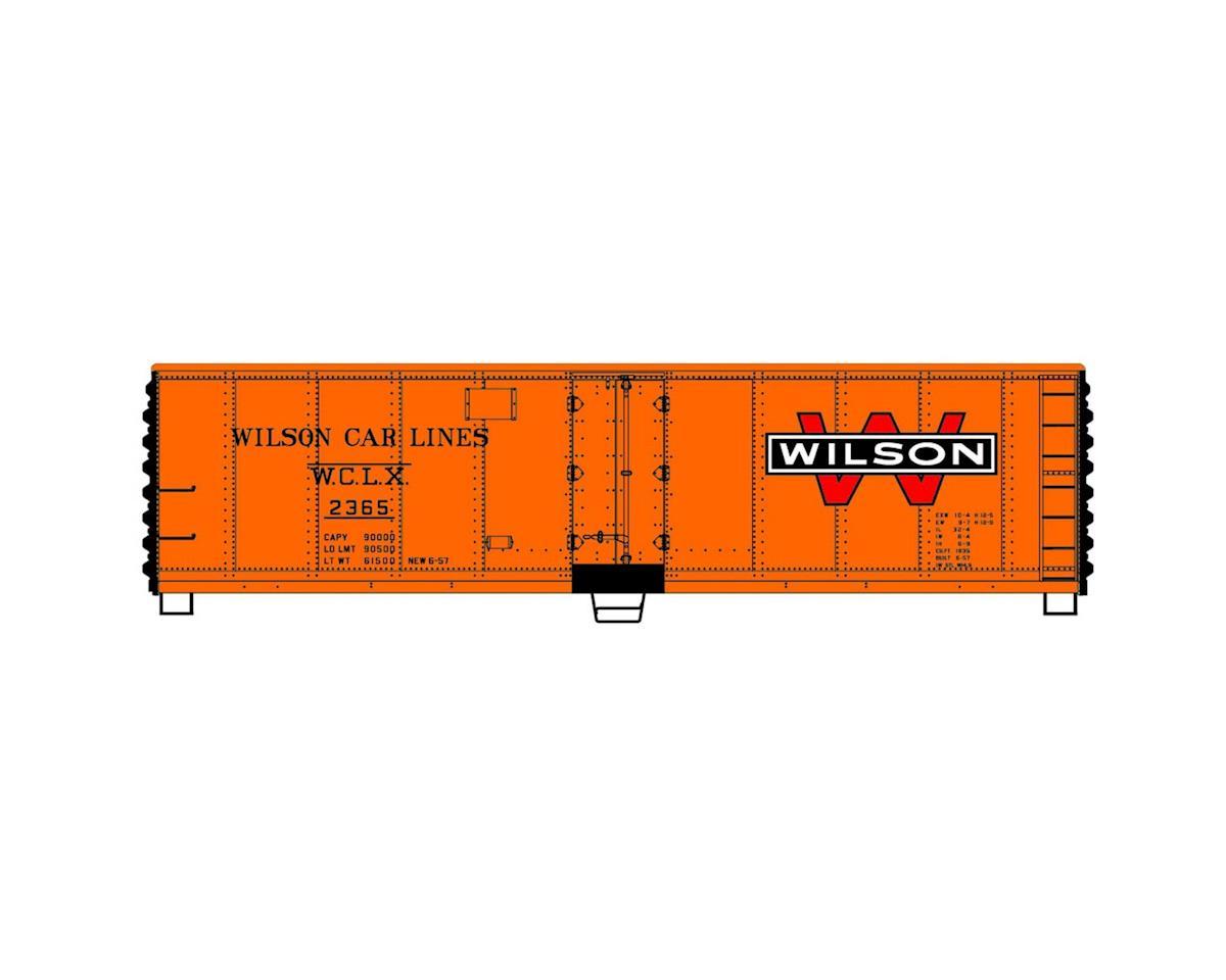 HO KIT 40' Steel Reefer, Wilson