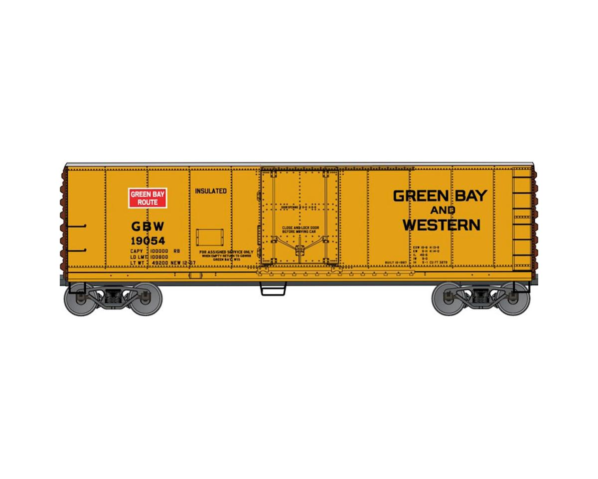 Accurail HO KIT 40' Steel Plug Door Reefer, GB&W/WRX