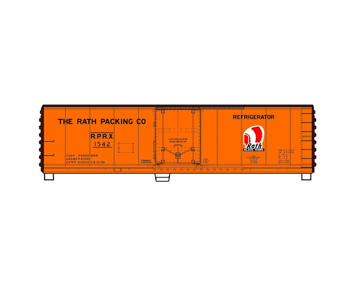 Accurail HO KIT 40' Steel Plug Door Reefer, Rath