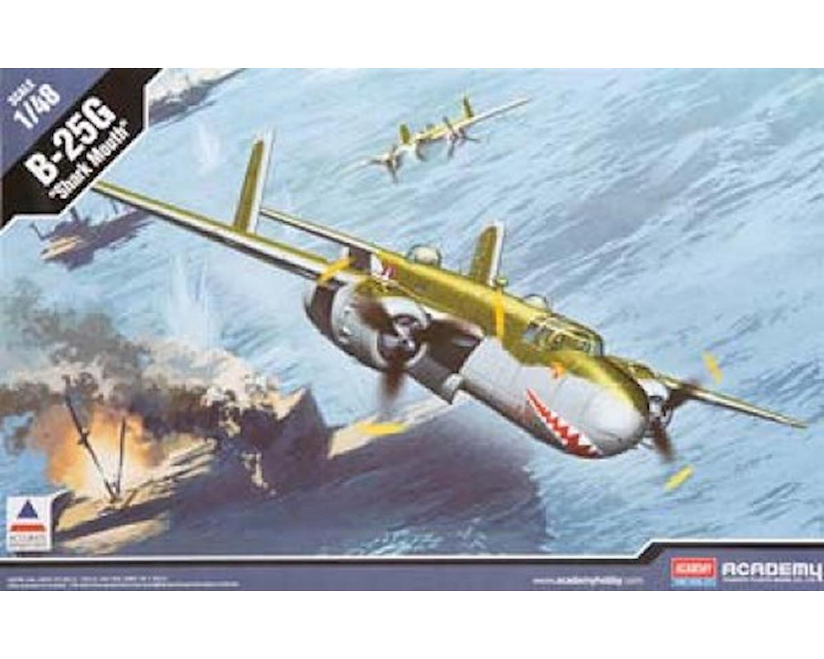 12290 1/48 B-25G Shark Mouth by Academy/MRC