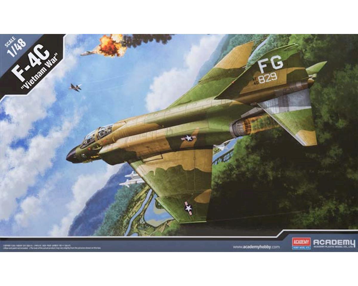 "1/48 F-4C USAF ""Vietnamese War"" by Academy/MRC"