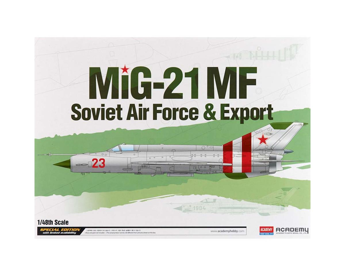 Academy/MRC 1/48 Mig-21Mf Soviet Air Force & Export Ltd. Ed.