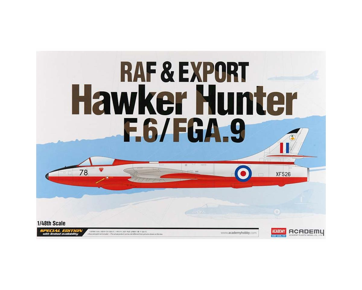 Academy/MRC 1/48 Raf & Export Hawker Hunter F.6/Fga.9