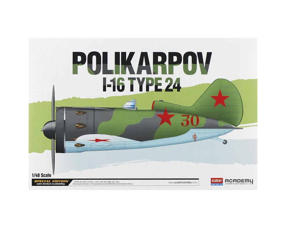 1/48 Polikarpov I-16 Type 24 by Academy/MRC