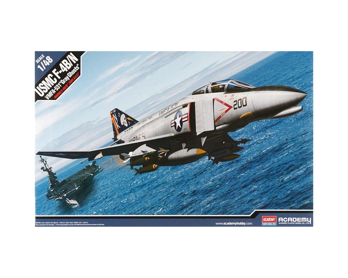Academy/MRC 12315 1/48 F-4B/N VMFA-531 Gray Ghosta USMC