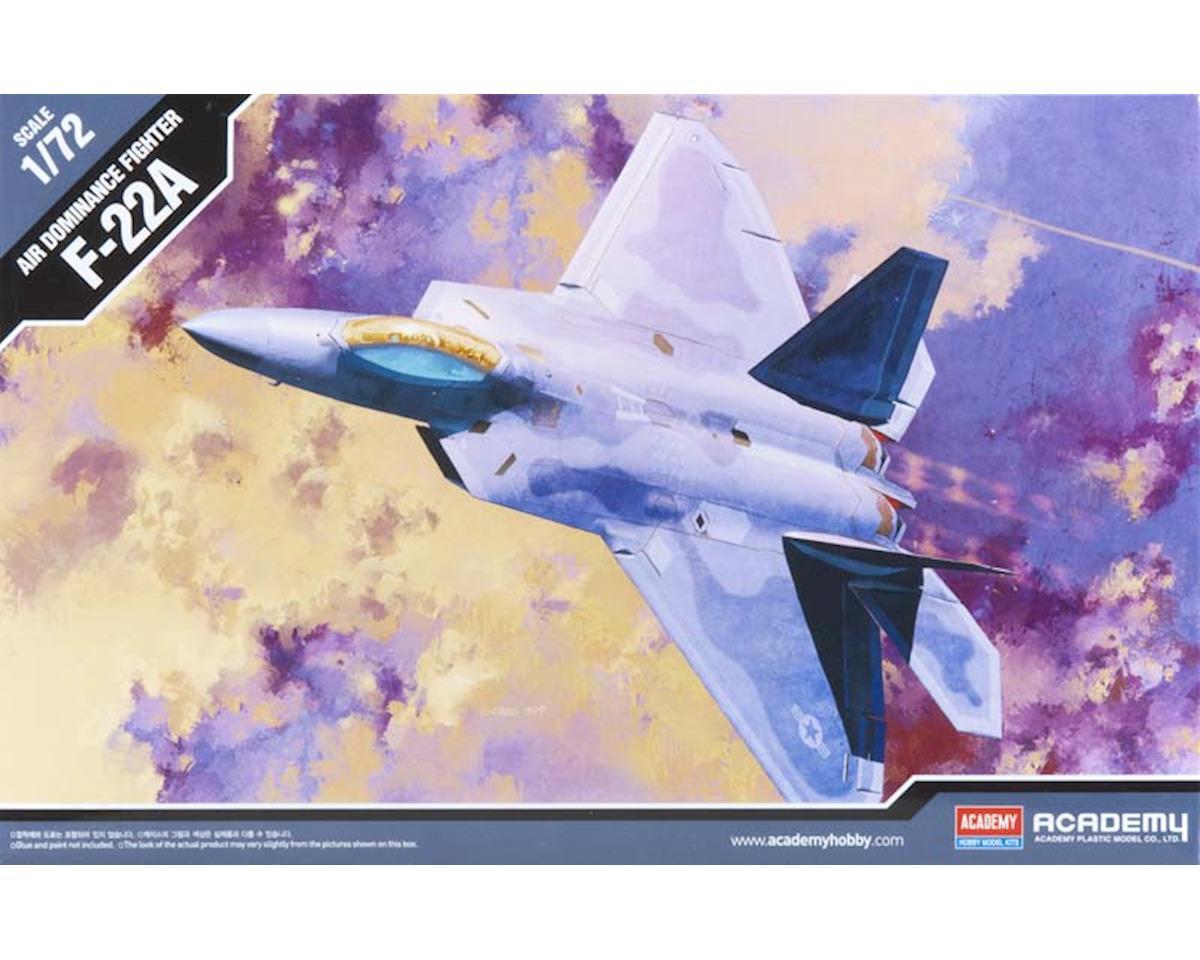 Academy/MRC 1/72 F-22A Raptor, 100% New Tool