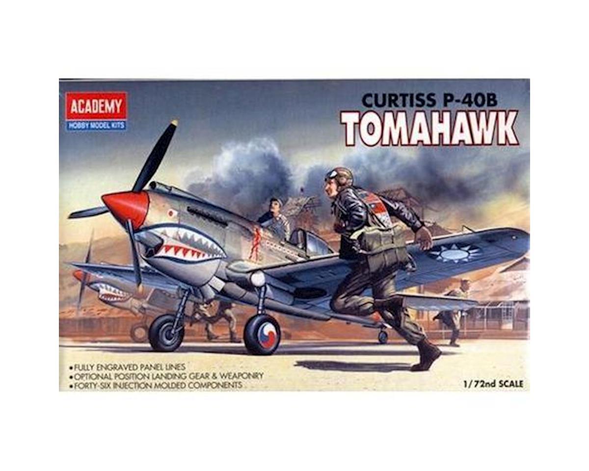 Academy Plastics  1/72 Curtiss P-40B Tomahawk