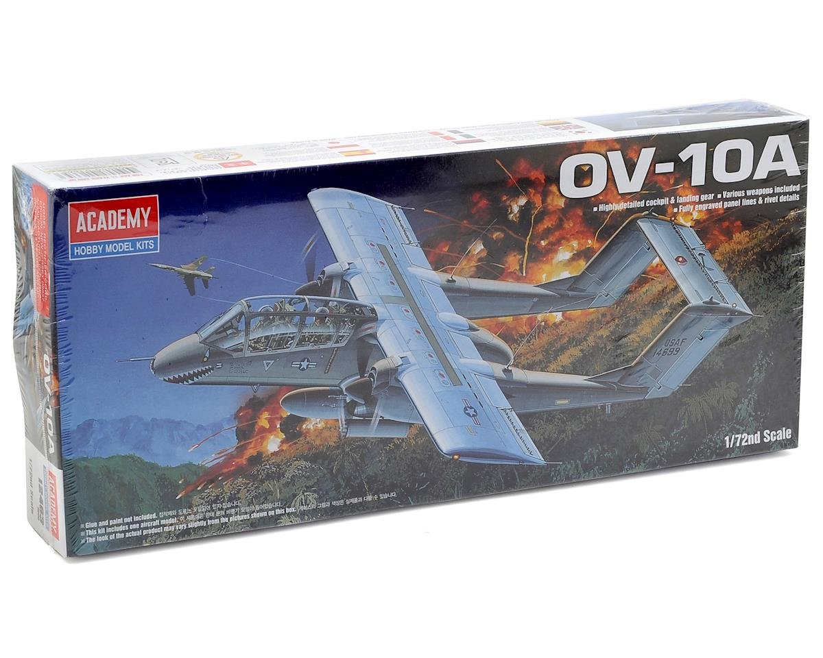 OV-10A Bronco 1/72 Scale Model Airplane Kit by Academy/MRC