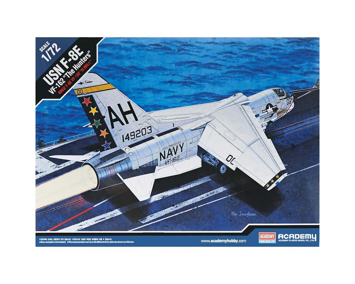 Academy Plastics  1/72 F-8E Vf-162 The Hunters Usn by Academy/MRC