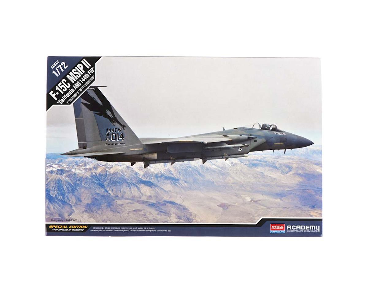 Academy/MRC 1/72 F-15C California Ang 144Th Fw Ltd. Ed.