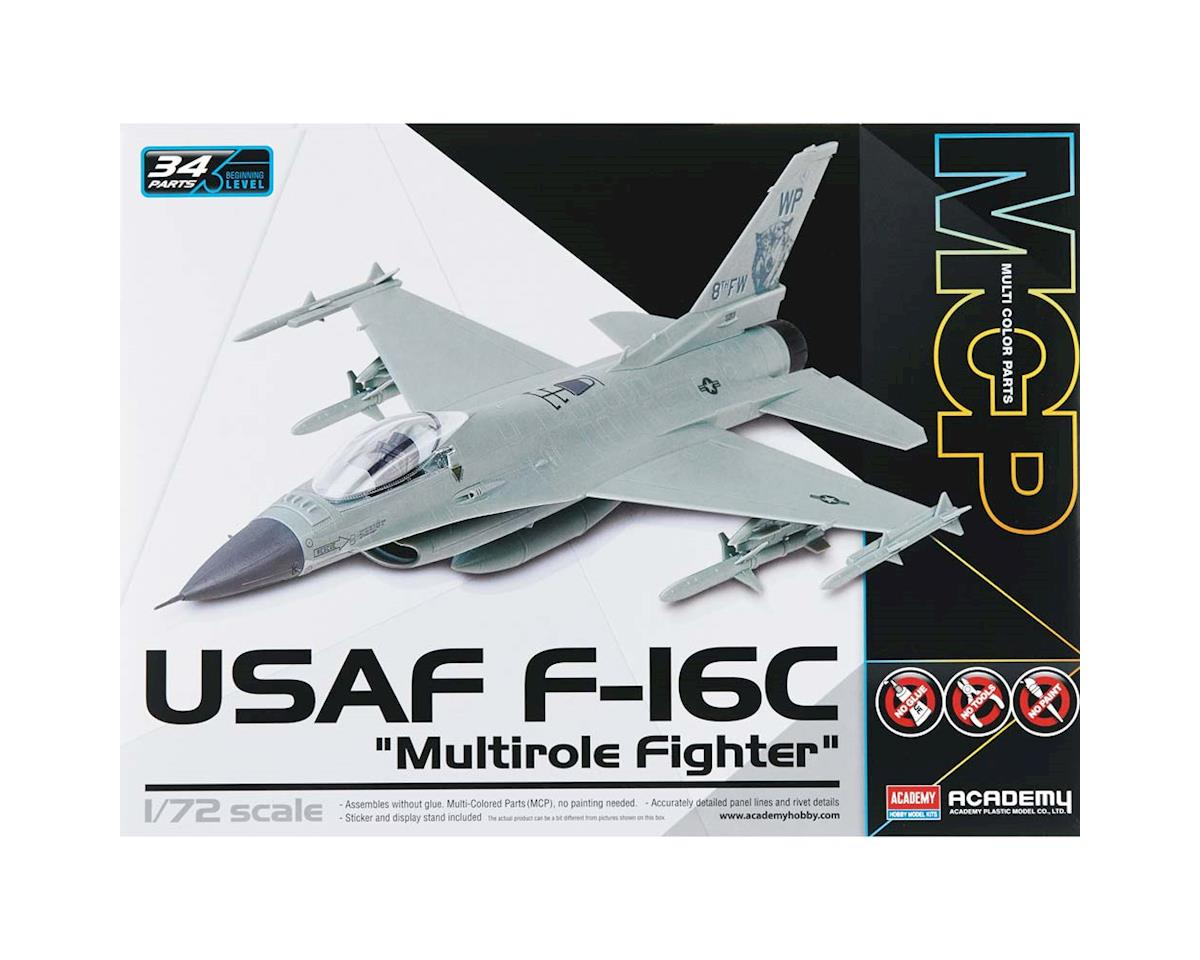 1/72 F-16C Usaf Multirole Fighter Mcp by Academy/MRC
