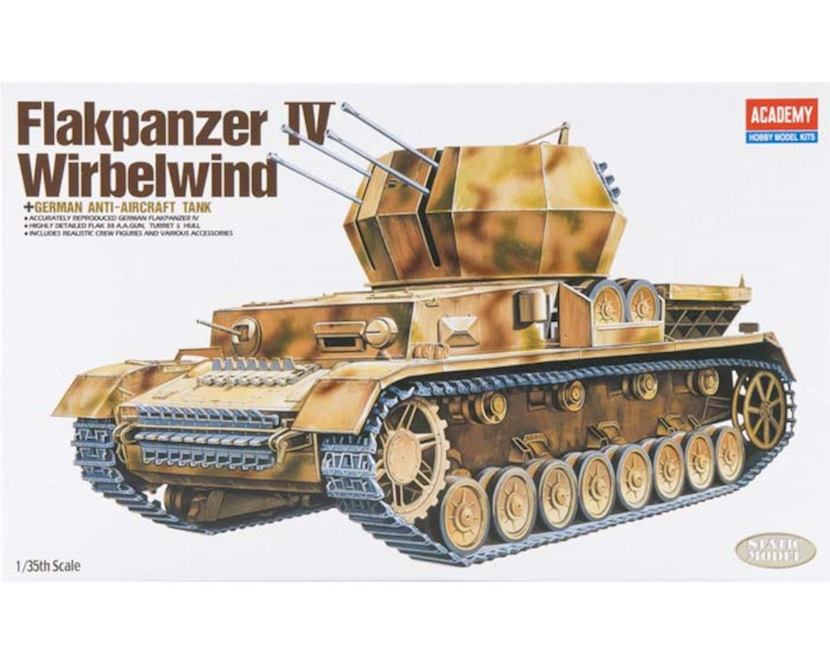 Academy/MRC 13236 1/35 Flakpanzer IV Wirbelwind Quad 20mm Tank