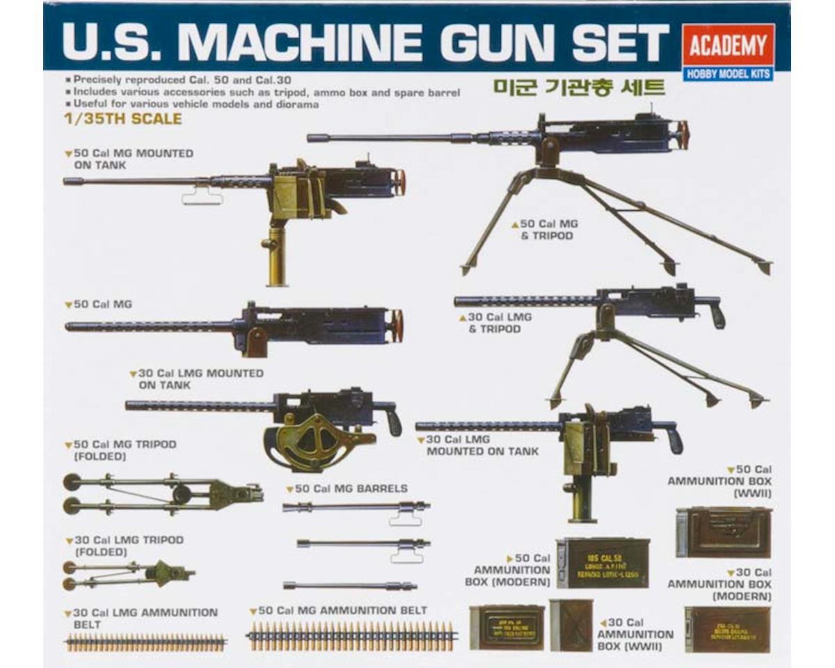 Academy/MRC 1/35 US WWII Machine Gun Set