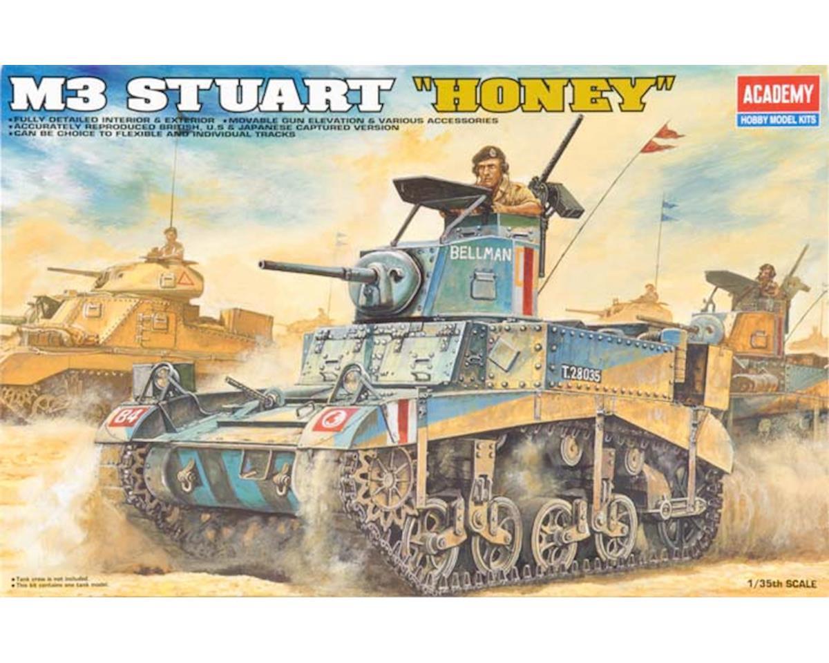 13270 1/35 M3 Stuart Honey Tank by Academy/MRC