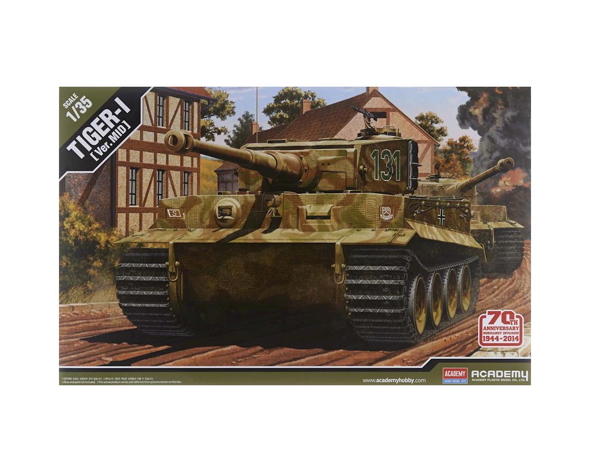 Academy/MRC 13287 1/35 Tiger-I Mid Ver 70th Anniv Normandy Invasion