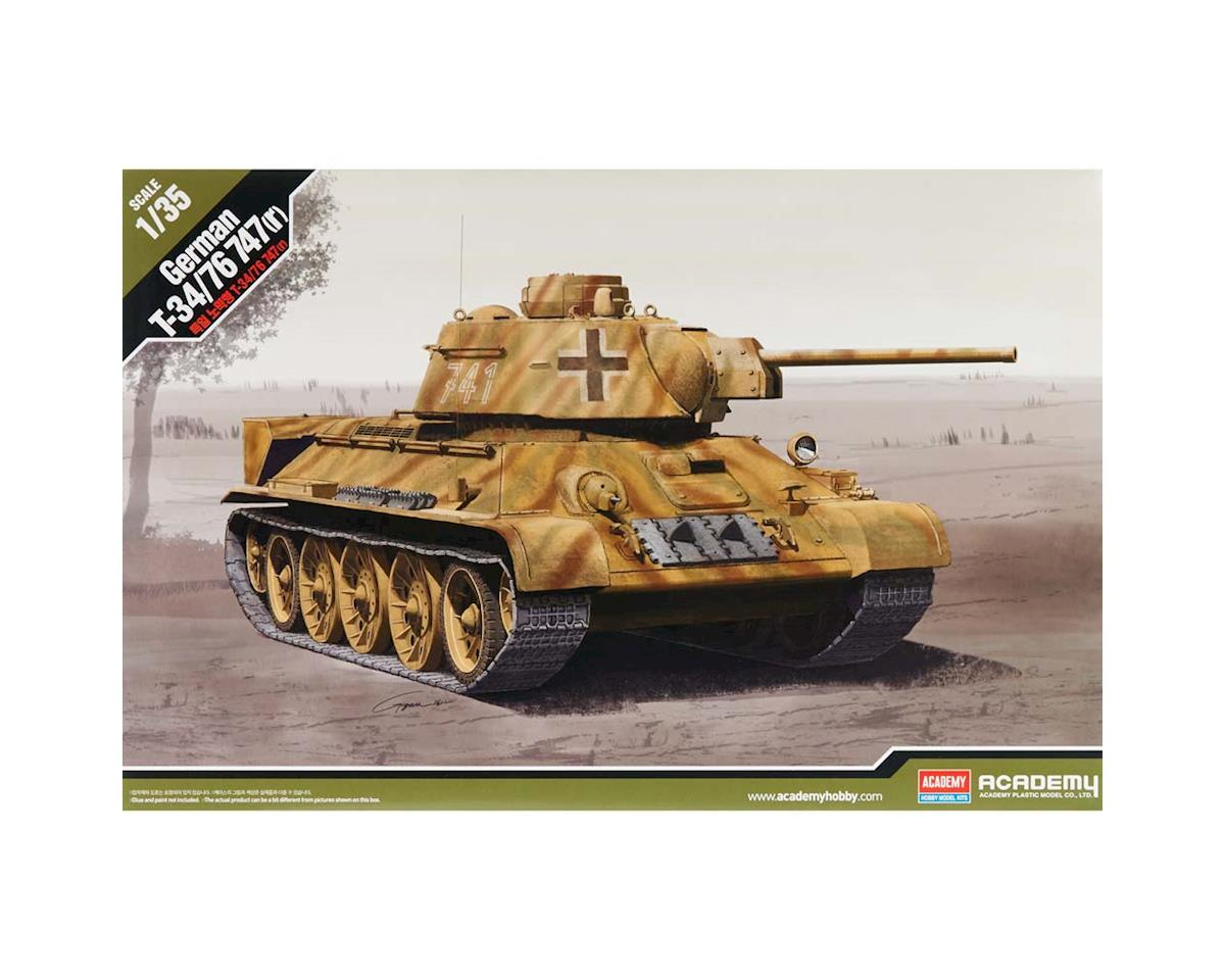 Academy/MRC 1/35 German T-34/76 747(R)