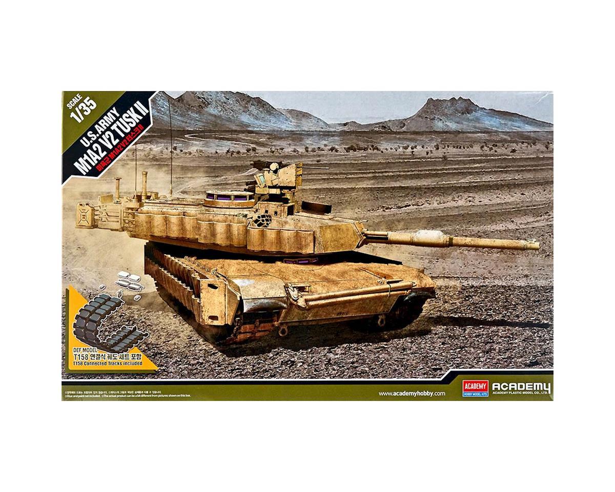 Academy/MRC 13504 1/35 US Army M1A2 V2 TUSK II