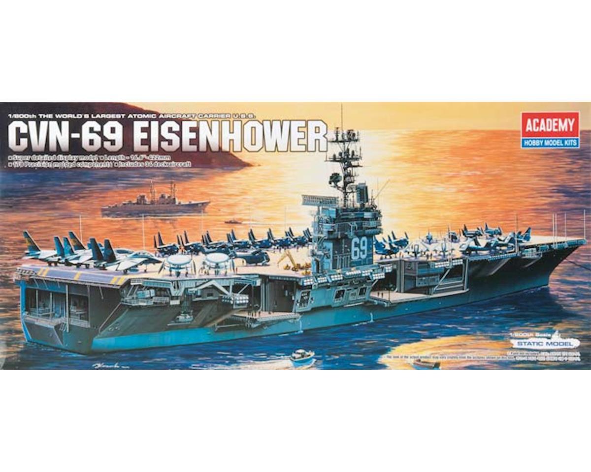 14212 1/800 USS Eisenhower CVN69 by Academy/MRC