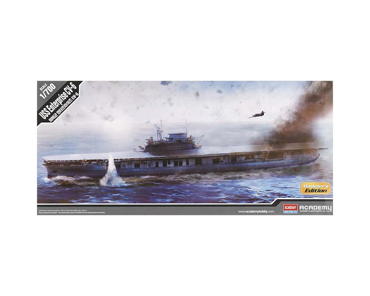 Academy/MRC 14224 1/700 USS Enterprise CV-6 Modeler's Edition