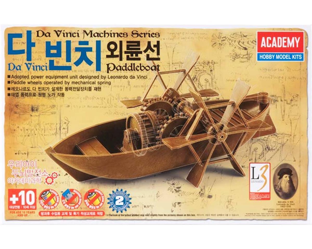 Leonardo da Vinci Paddleboat by Academy/MRC
