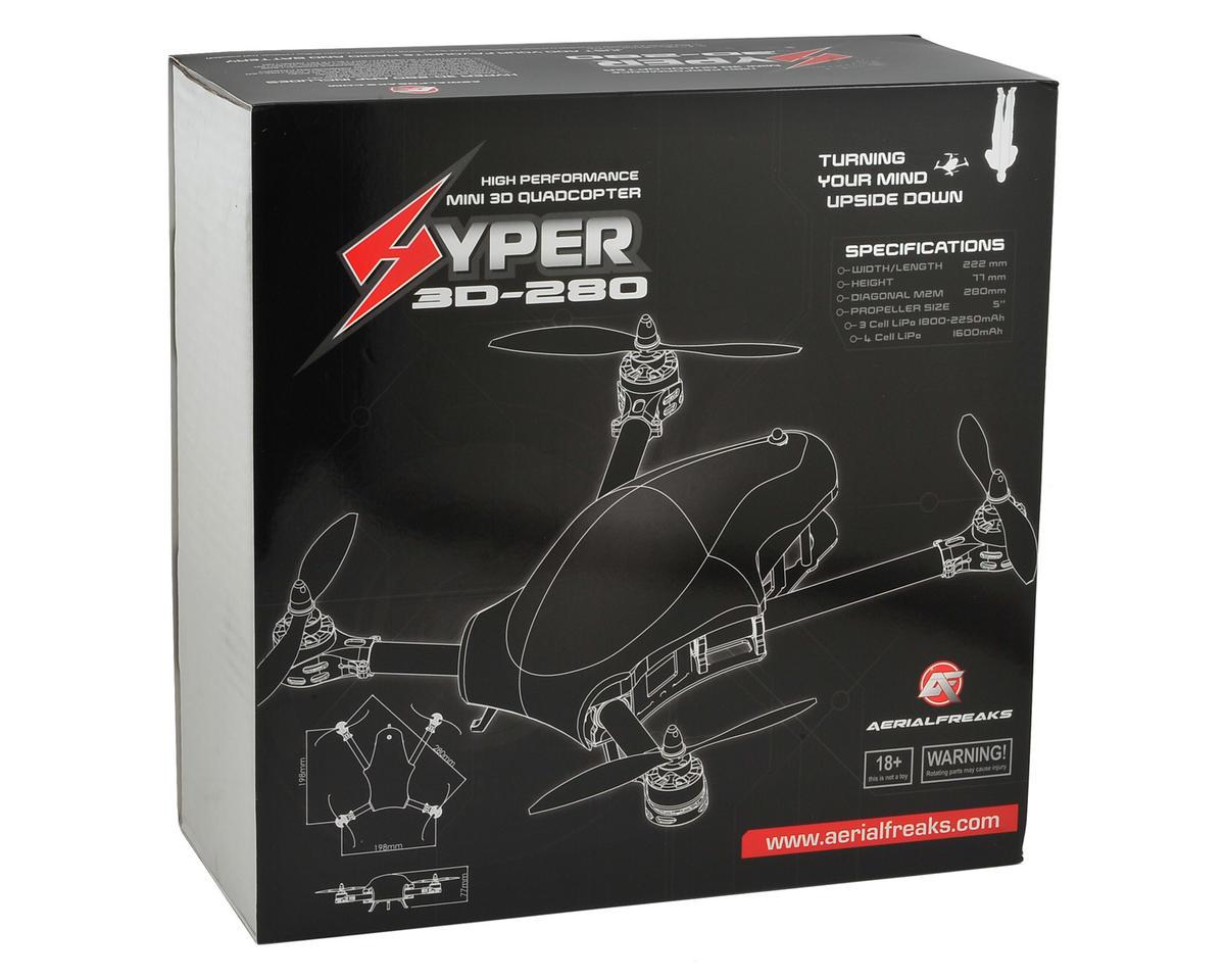 Aerialfreaks Hyper 280 3D ARF Quadcopter Drone