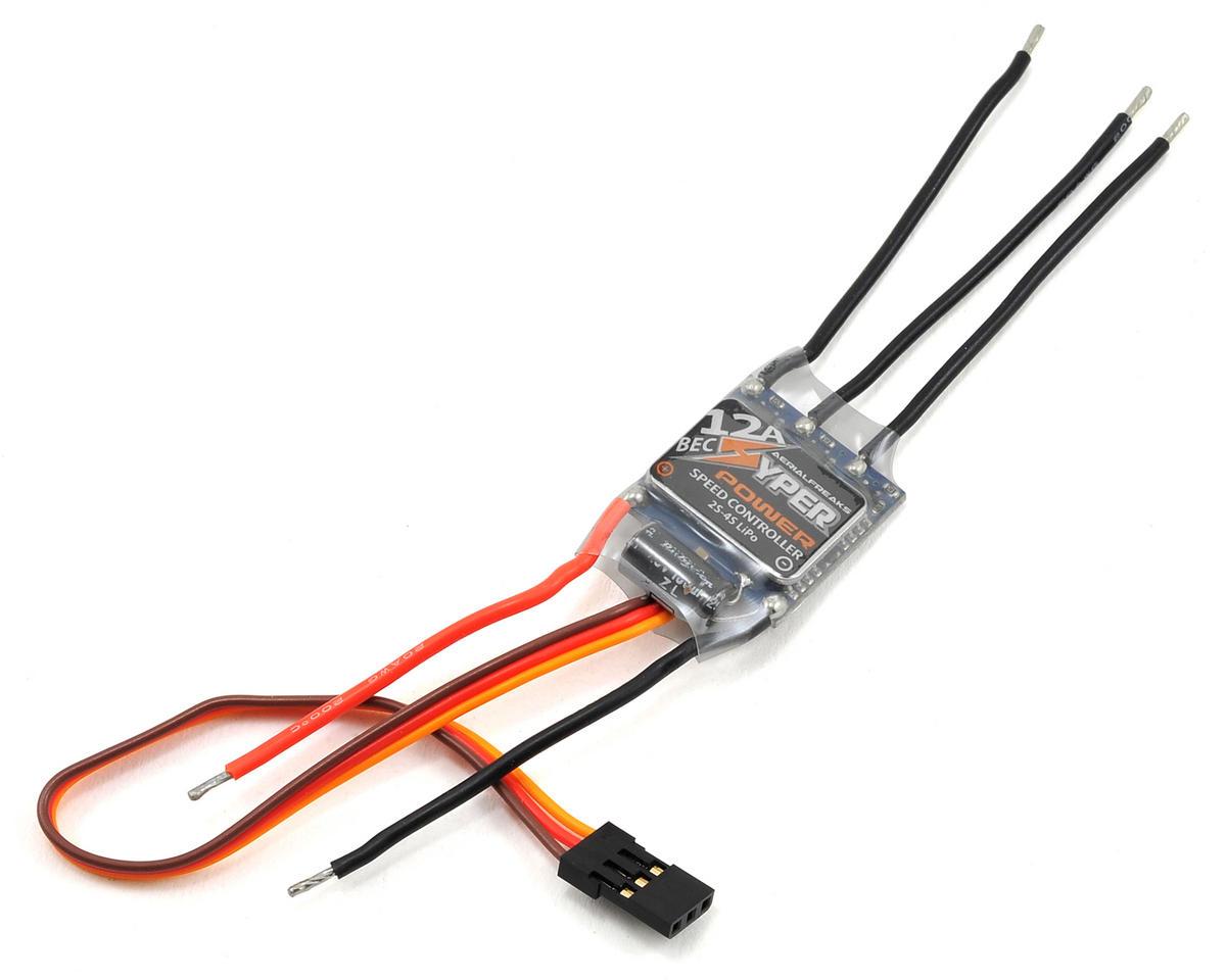 Aerialfreaks Hyper 12A Brushless ESC w/BEC