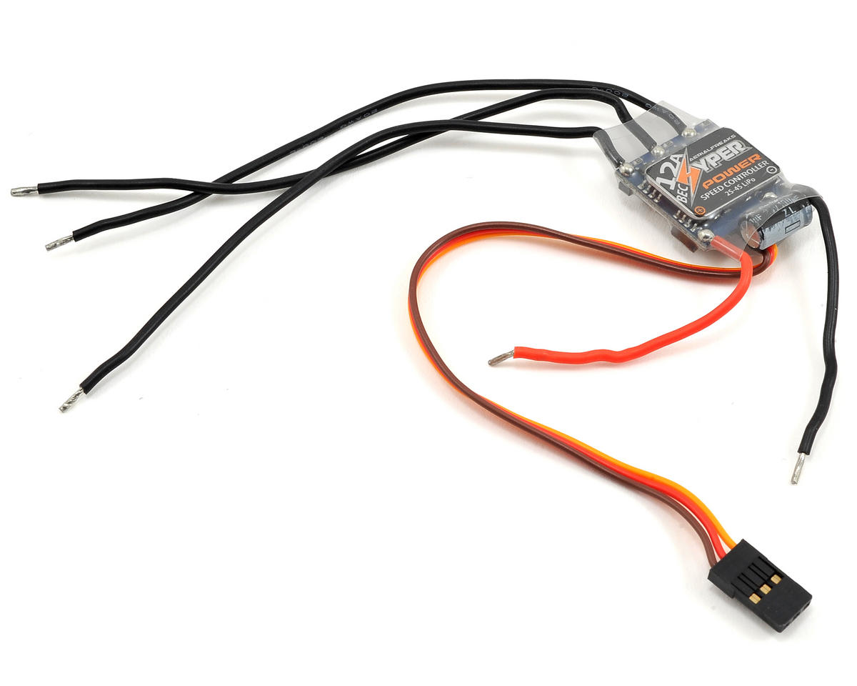 Aerialfreaks Mojo 280 FPV 12A Brushless ESC w/BEC (BLHeli Firmware)
