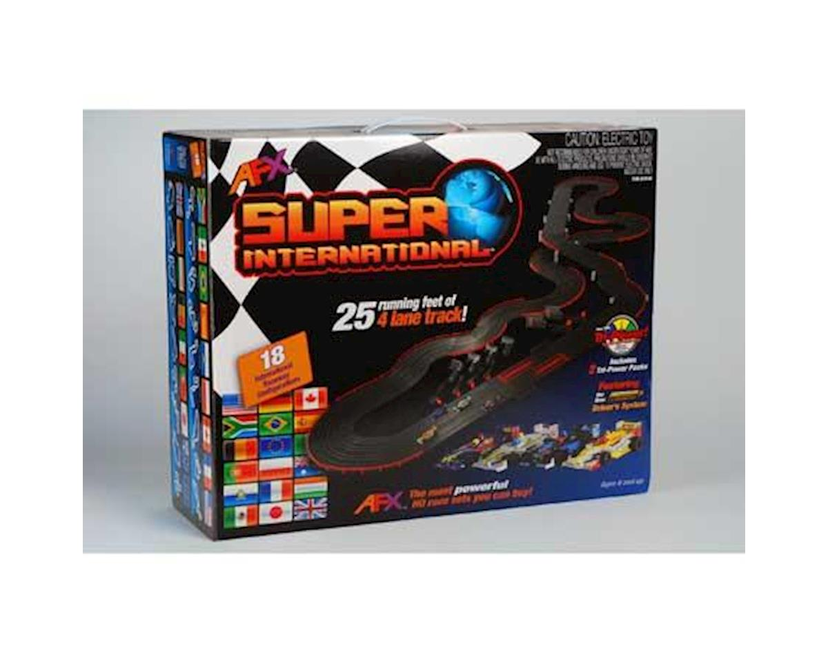 AFX HO 4-Lane Super International Race Car Set