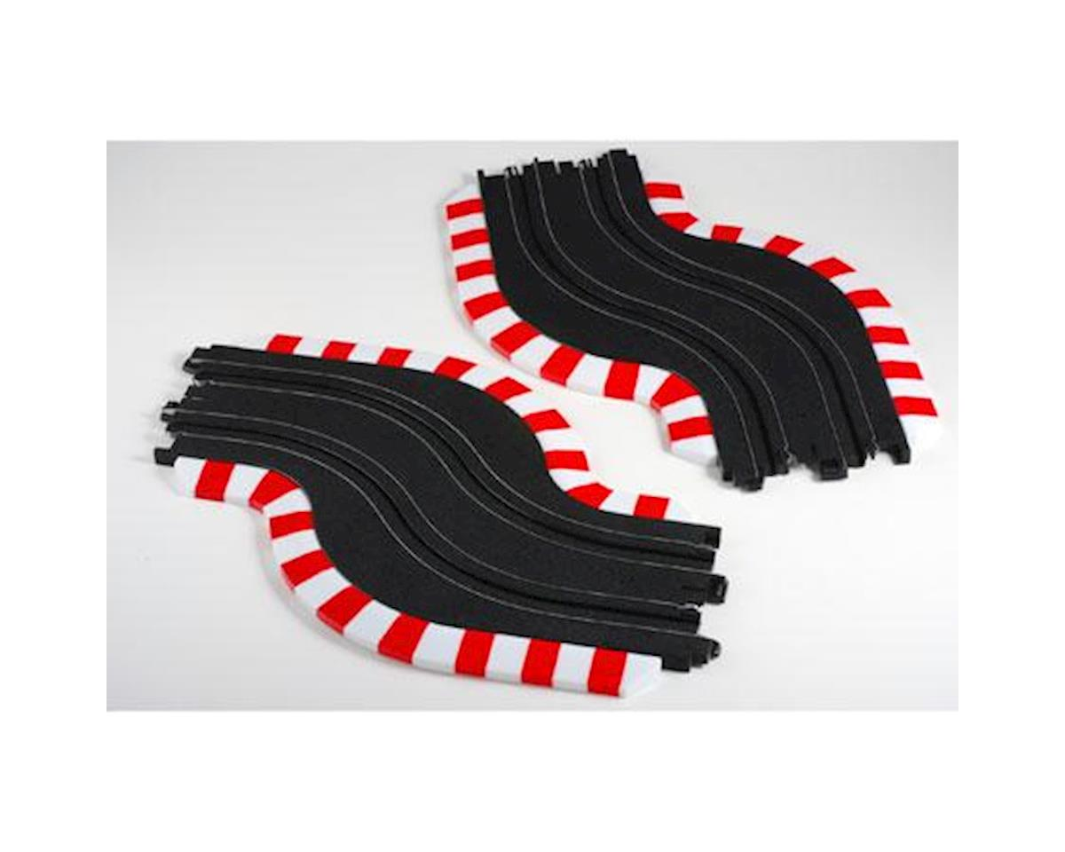 AFX Slot Track Chicane Set, L&R