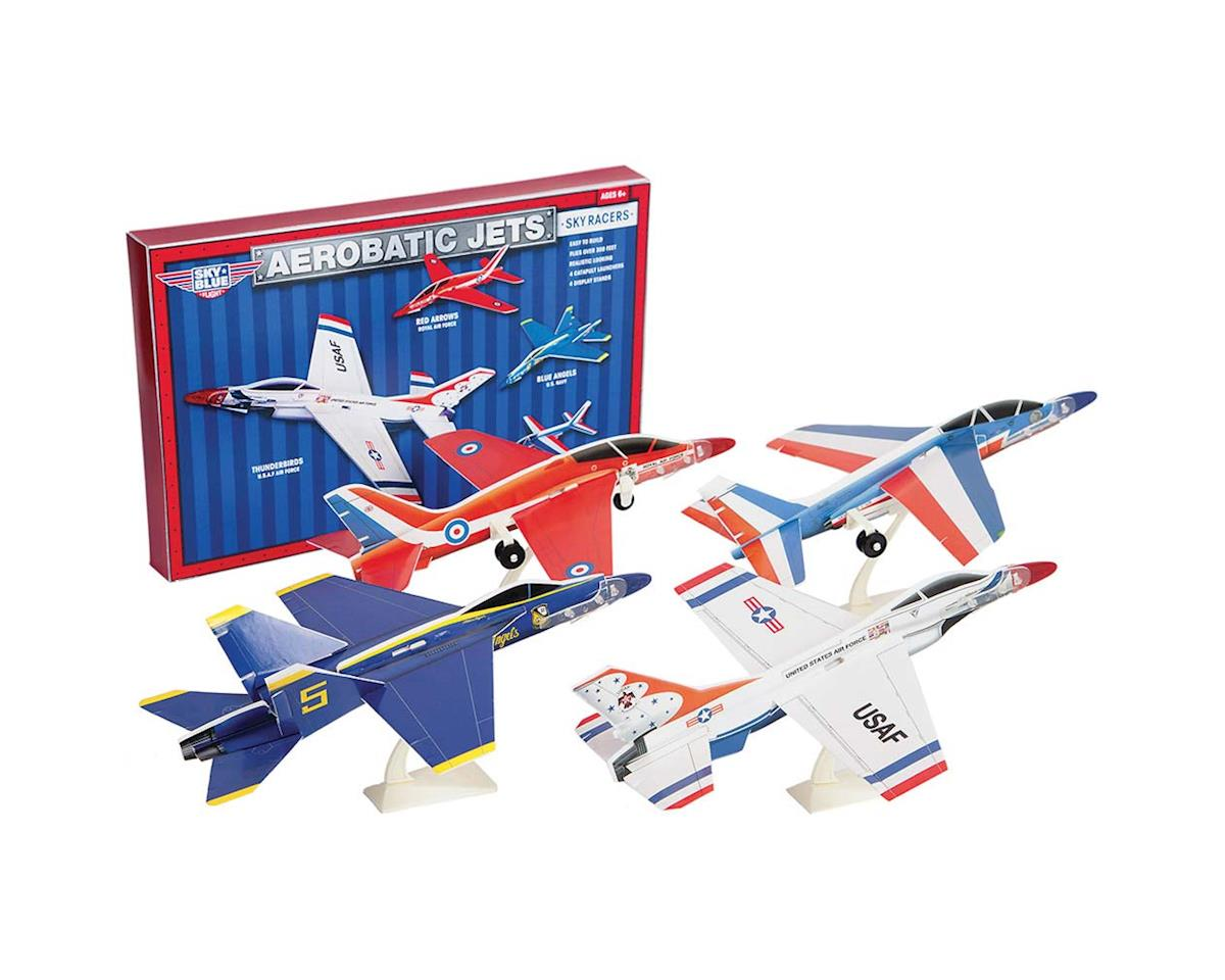 AG Industries 9310 Aerobatic Jets (4 Planes w/Display Stands)