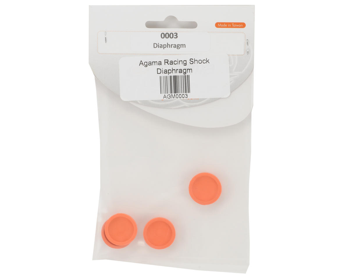 Agama Racing Shock Diaphragm Set (4)