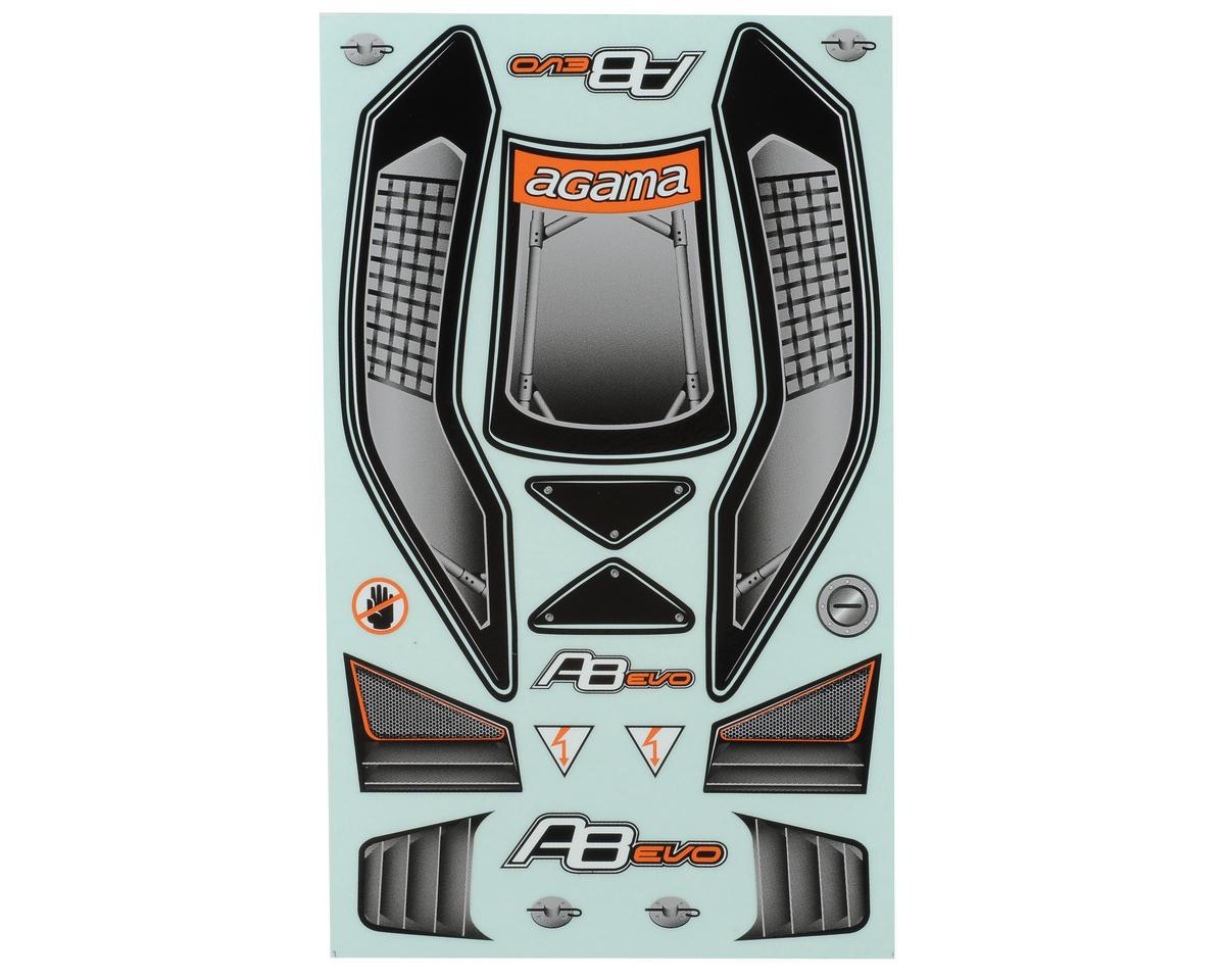 Agama Racing A8 EVO Body (Clear)