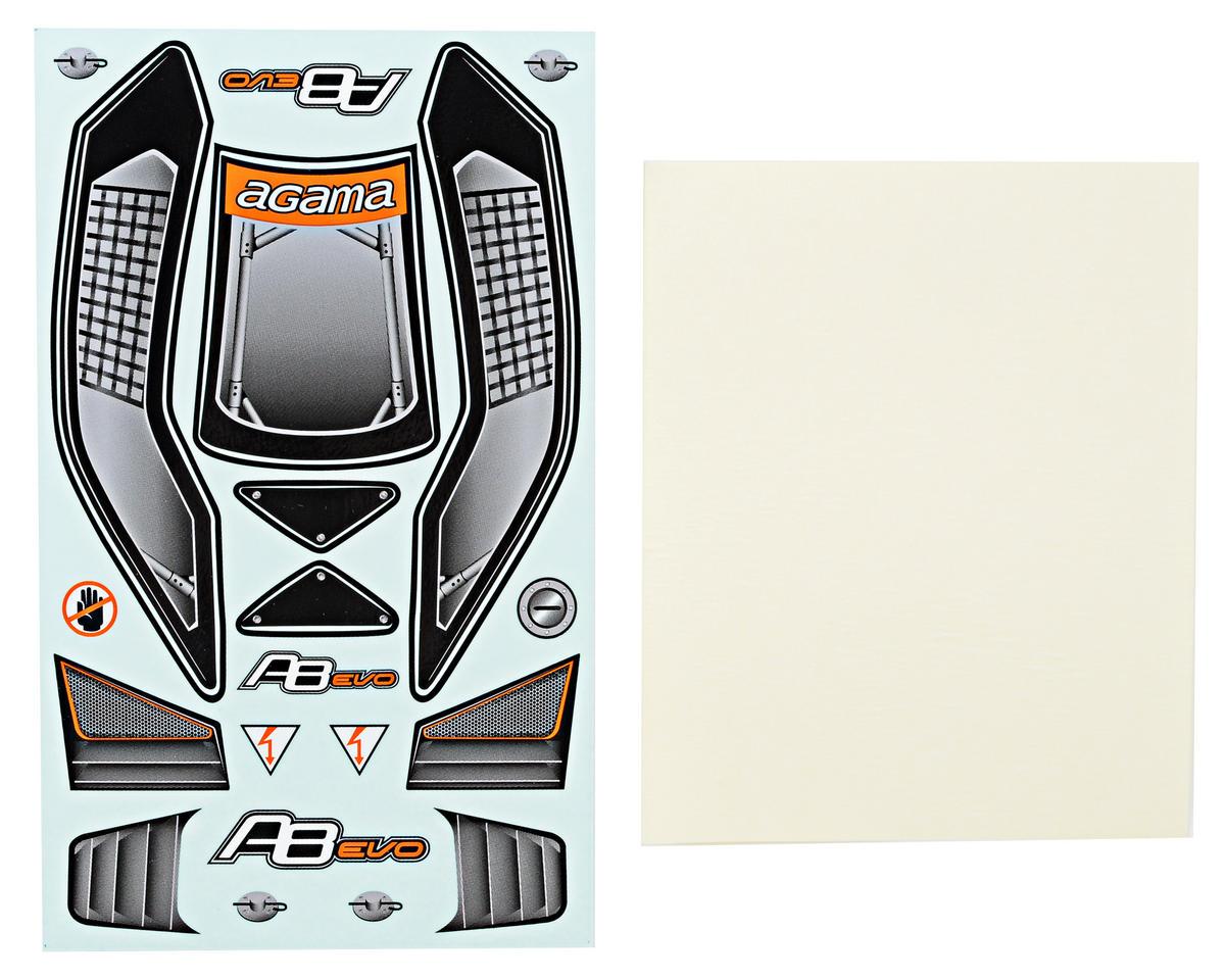 Agama Racing Body Decal Set