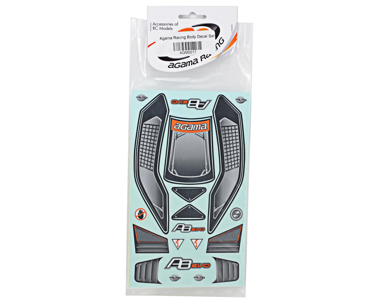 Agama Racing Body Decal Set