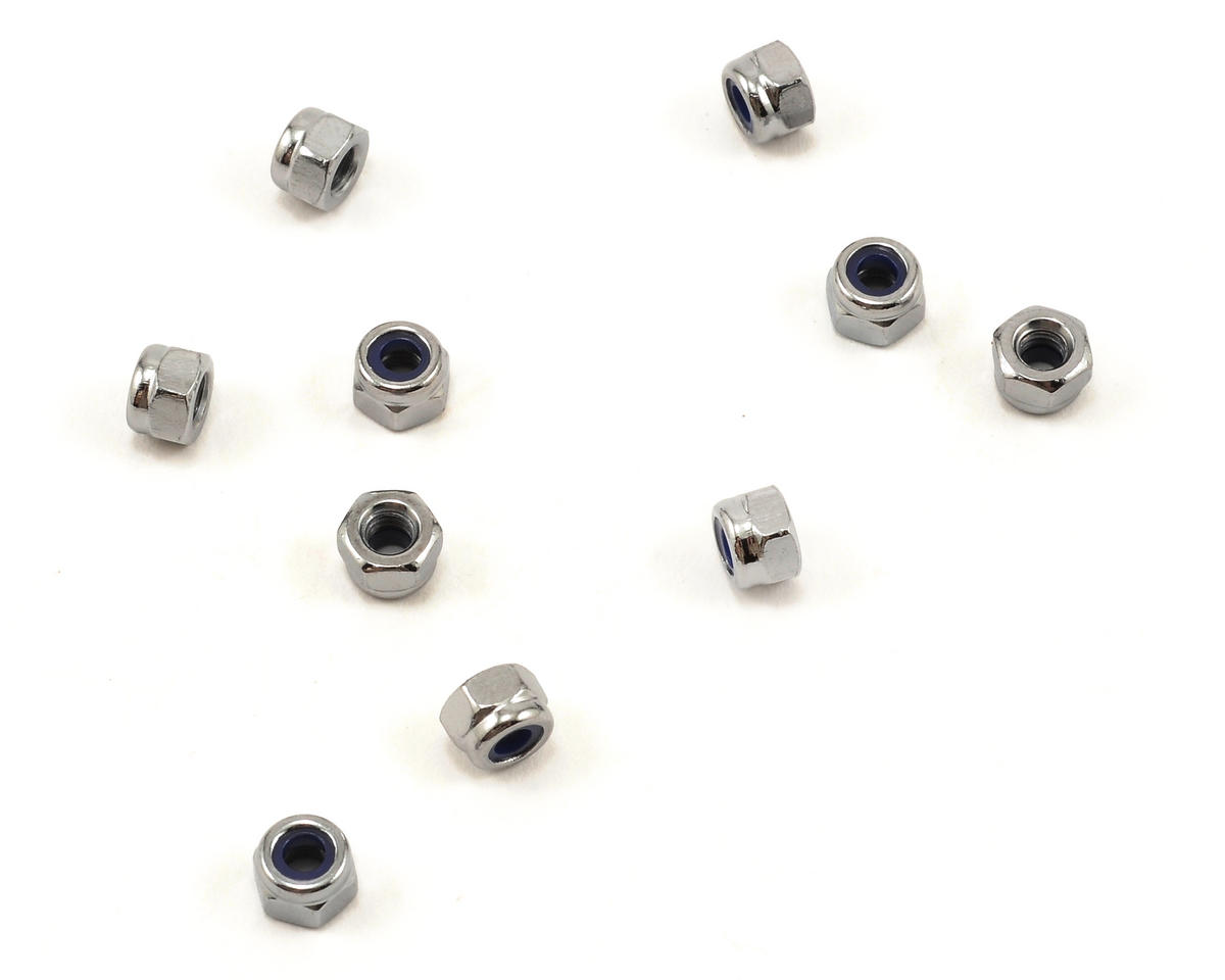 Agama Racing 3mm Nylon Locknut Set (10)
