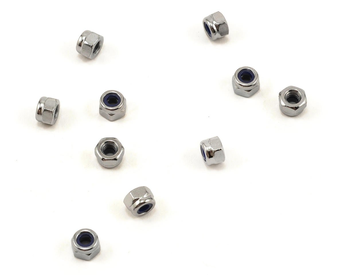 Agama 3mm Nylon Locknut Set (10)