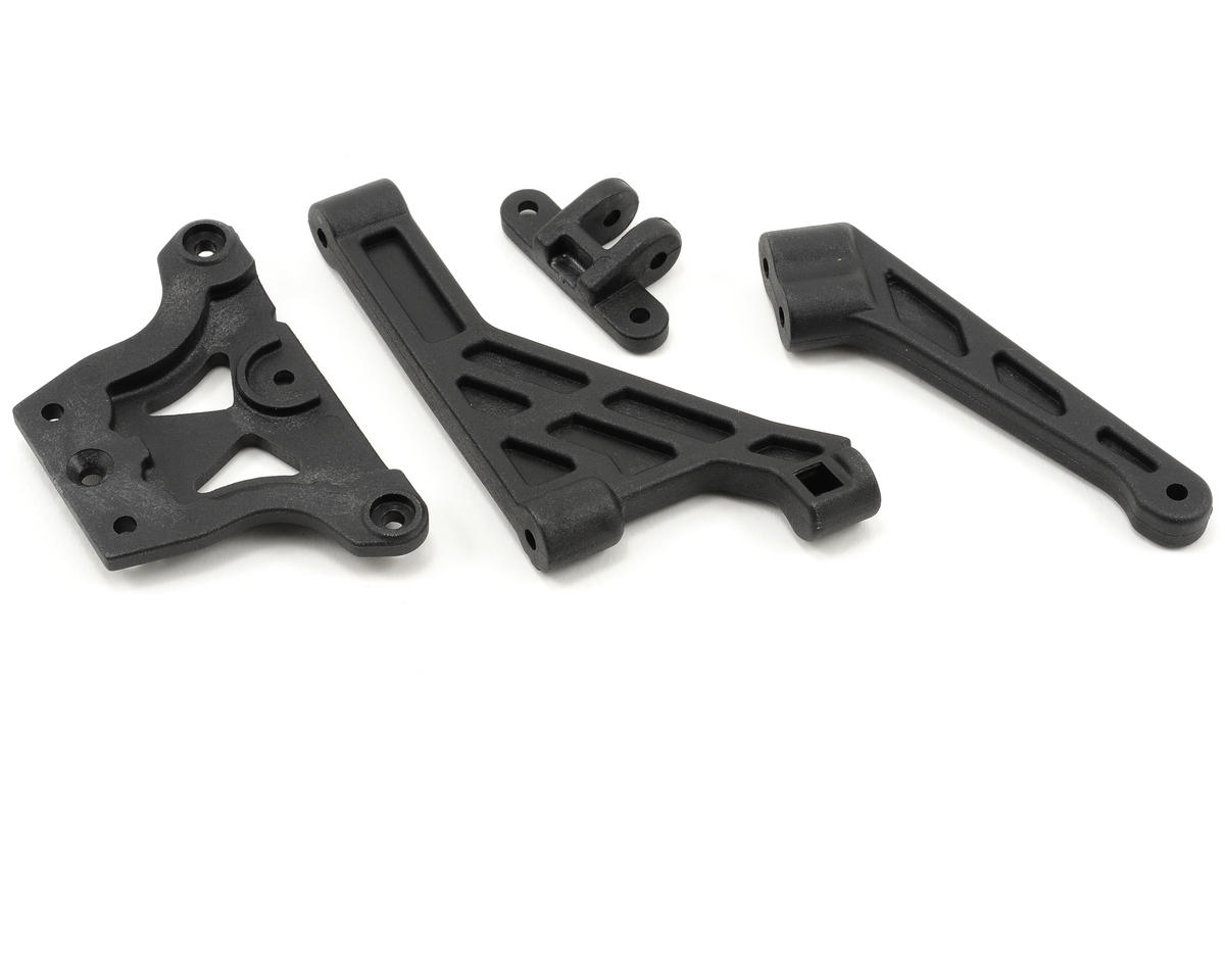 Agama Racing Front Upper Plate & Brace Set