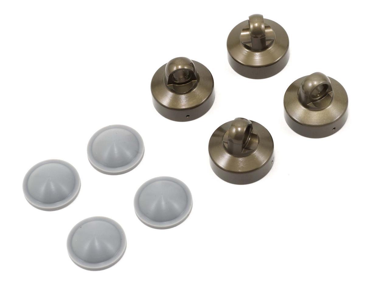 Agama Racing Inner Flat Shock Cap Set w/Convex Bladders (4)