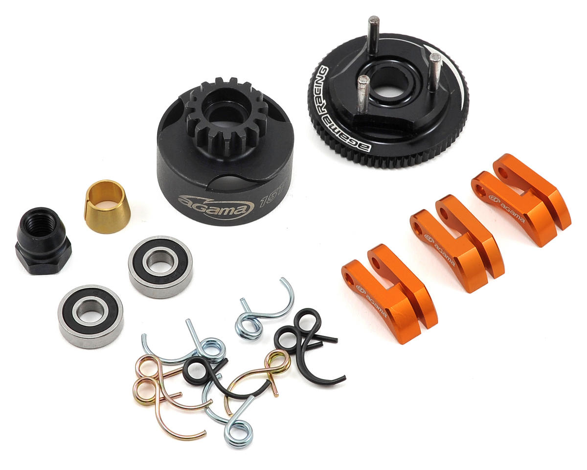 Agama Racing Complete Clutch Set w/Clutch Bell (15T)