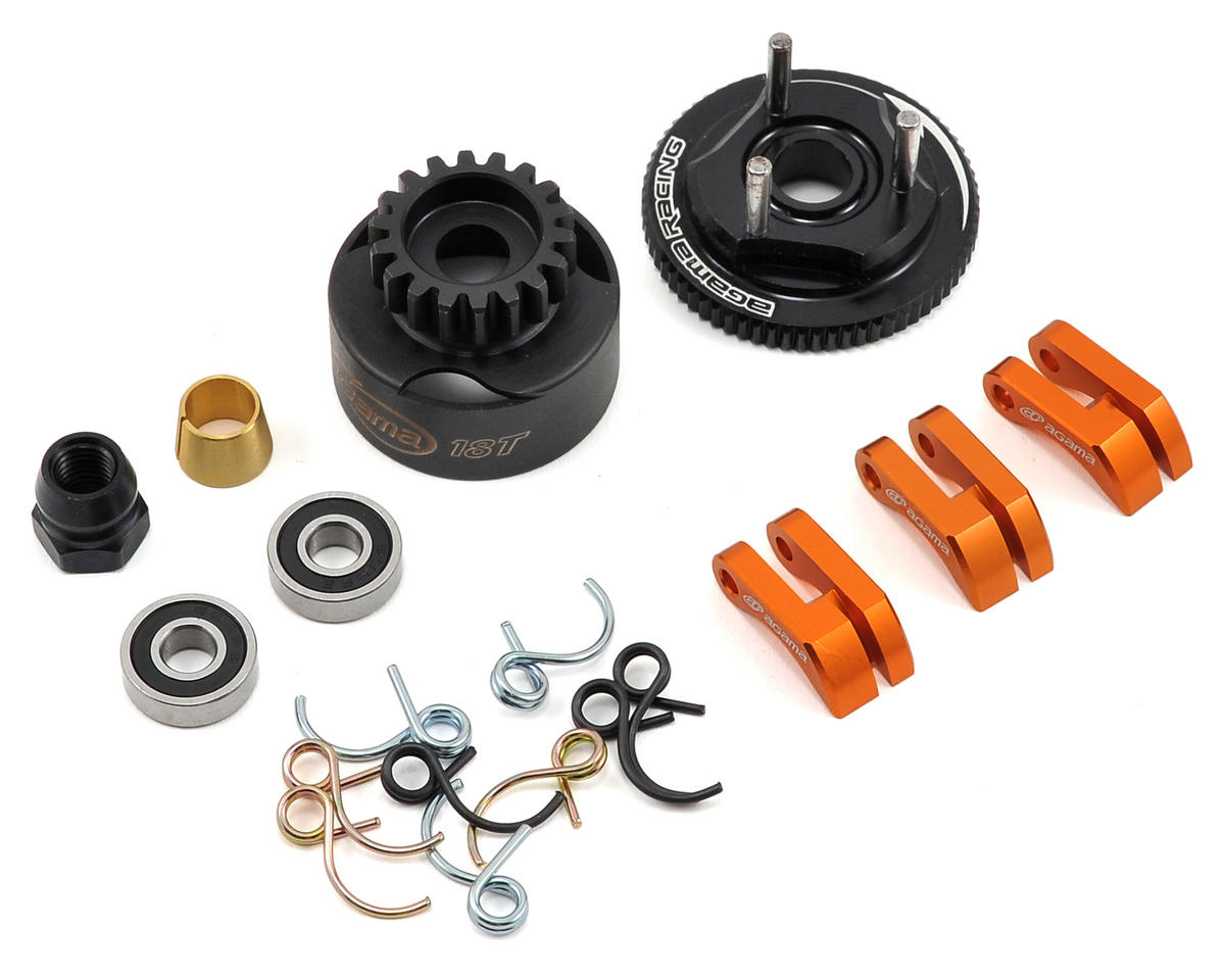 Agama Racing Complete Clutch Set w/Clutch Bell (18T)