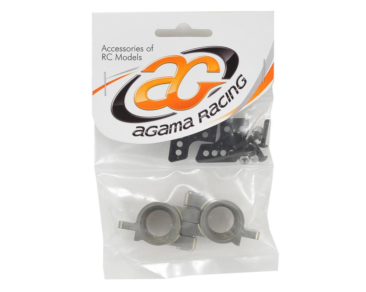 Agama Racing Aluminum Rear Hub Set
