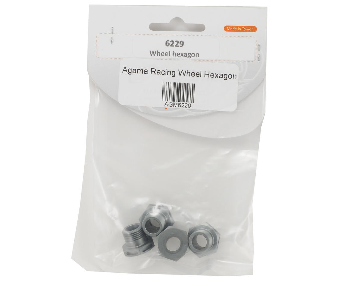 Agama Racing Wheel Hex Set (4)