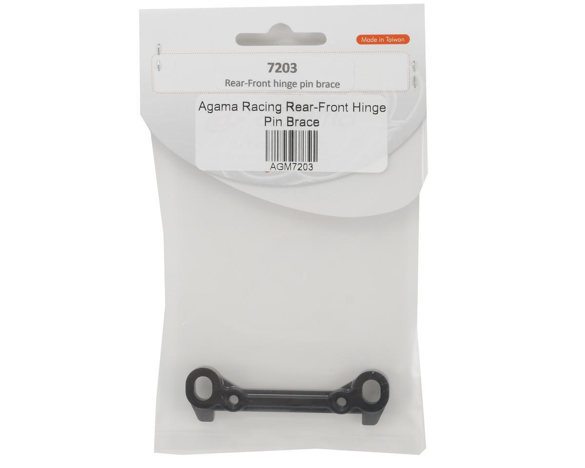 Agama Racing Rear/Inner Hinge Pin Brace