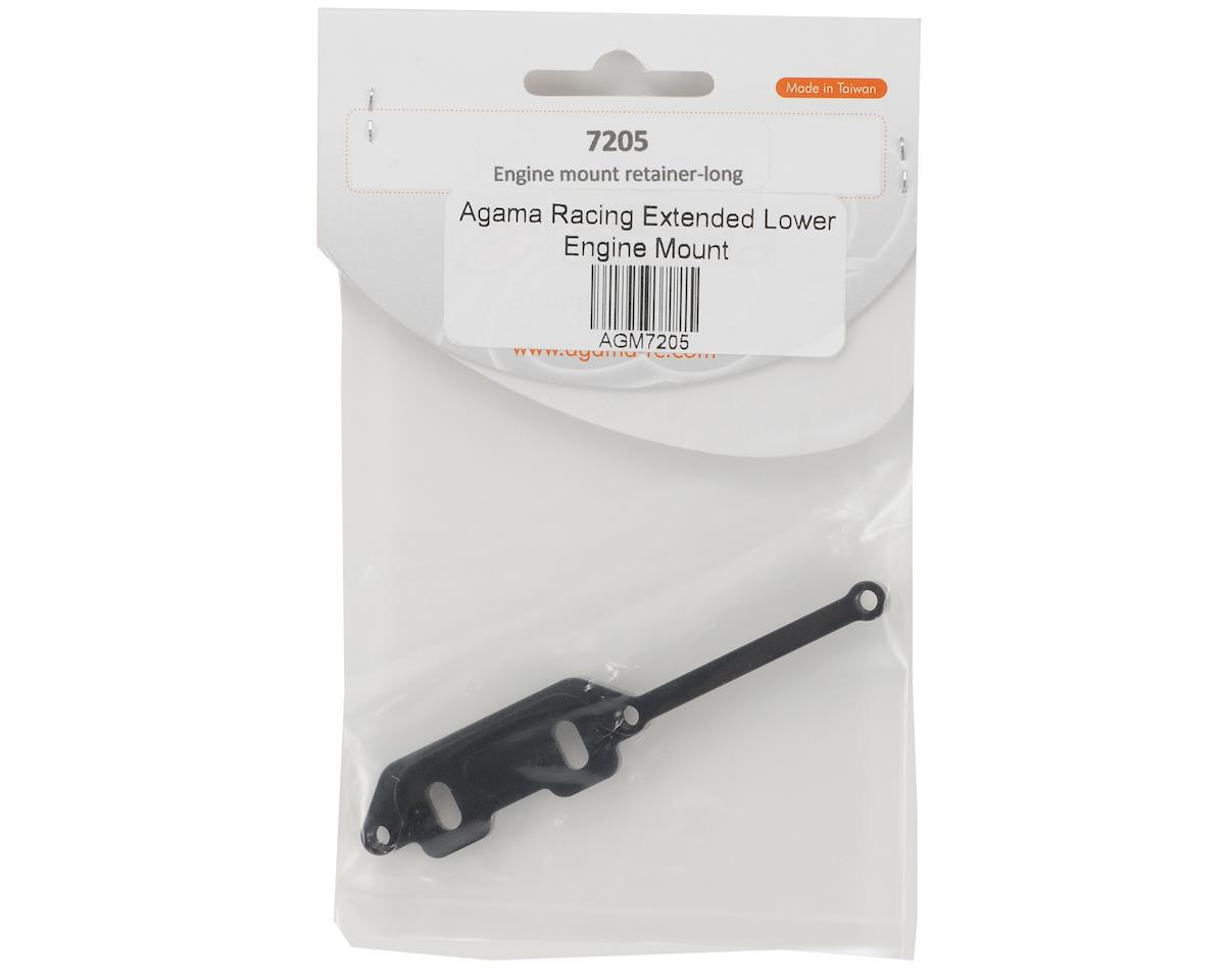 Agama Racing Extended Lower Engine Mount Plate