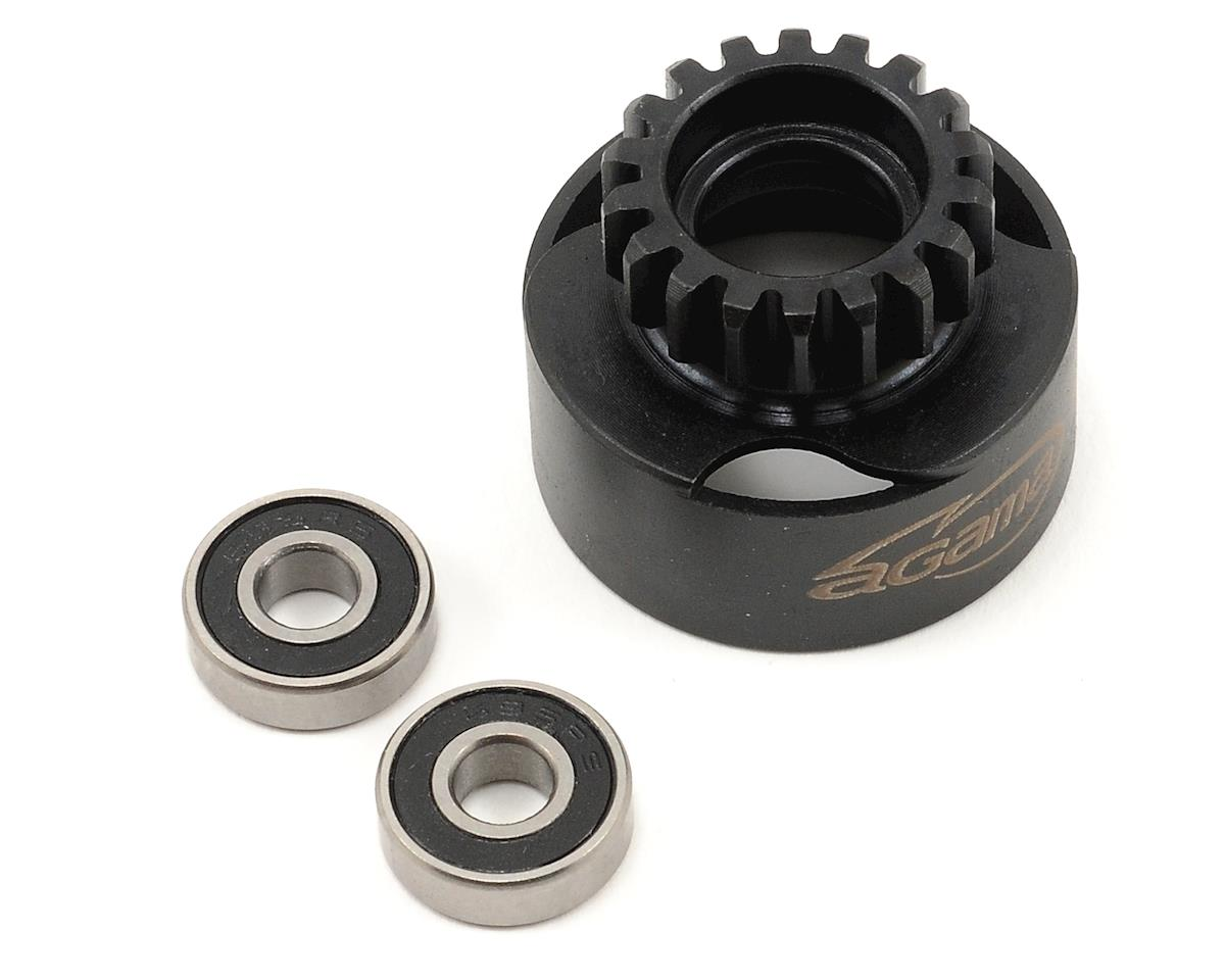 Agama Racing 18T Clutch Bell w/Bearings