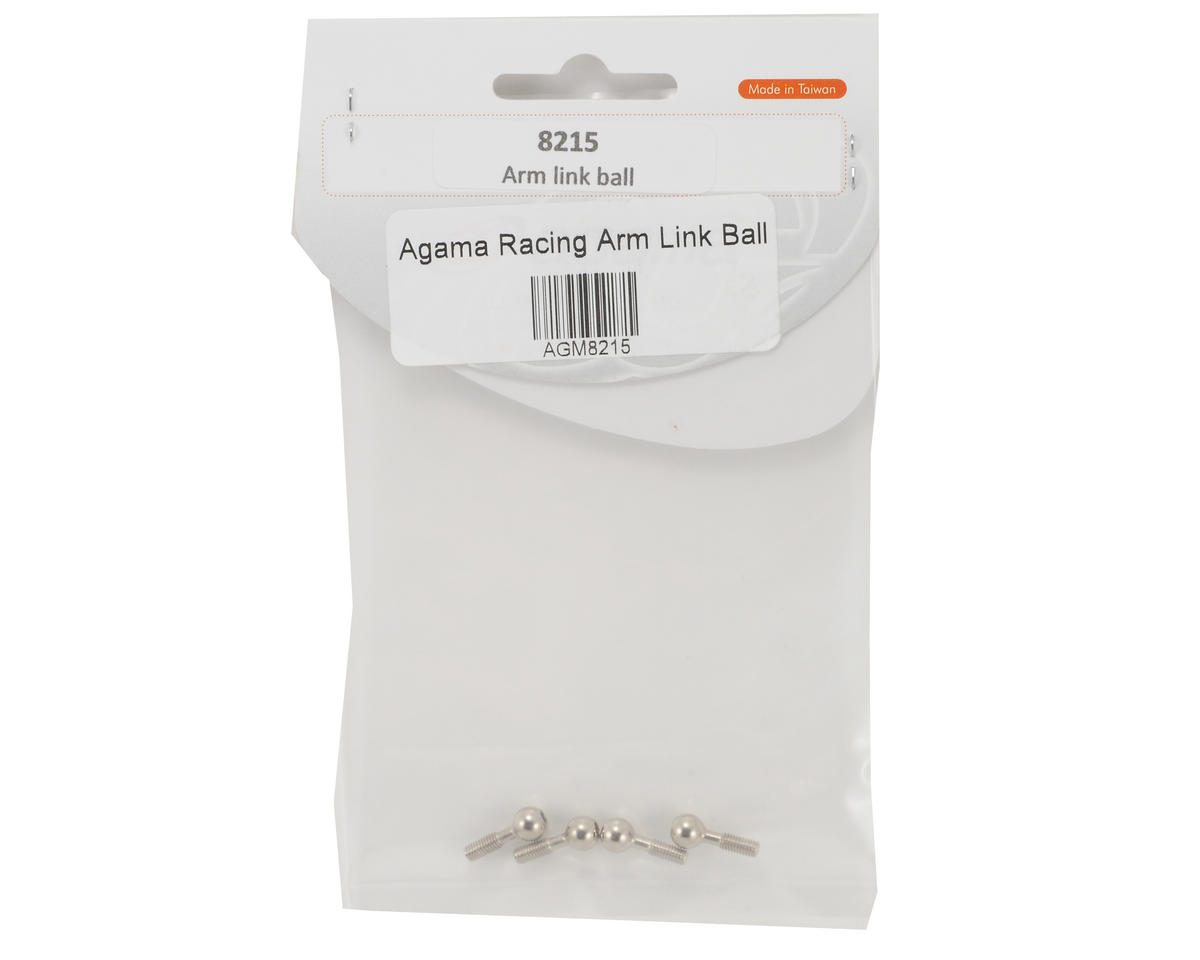 Agama Racing Arm Link Ball Set (4)