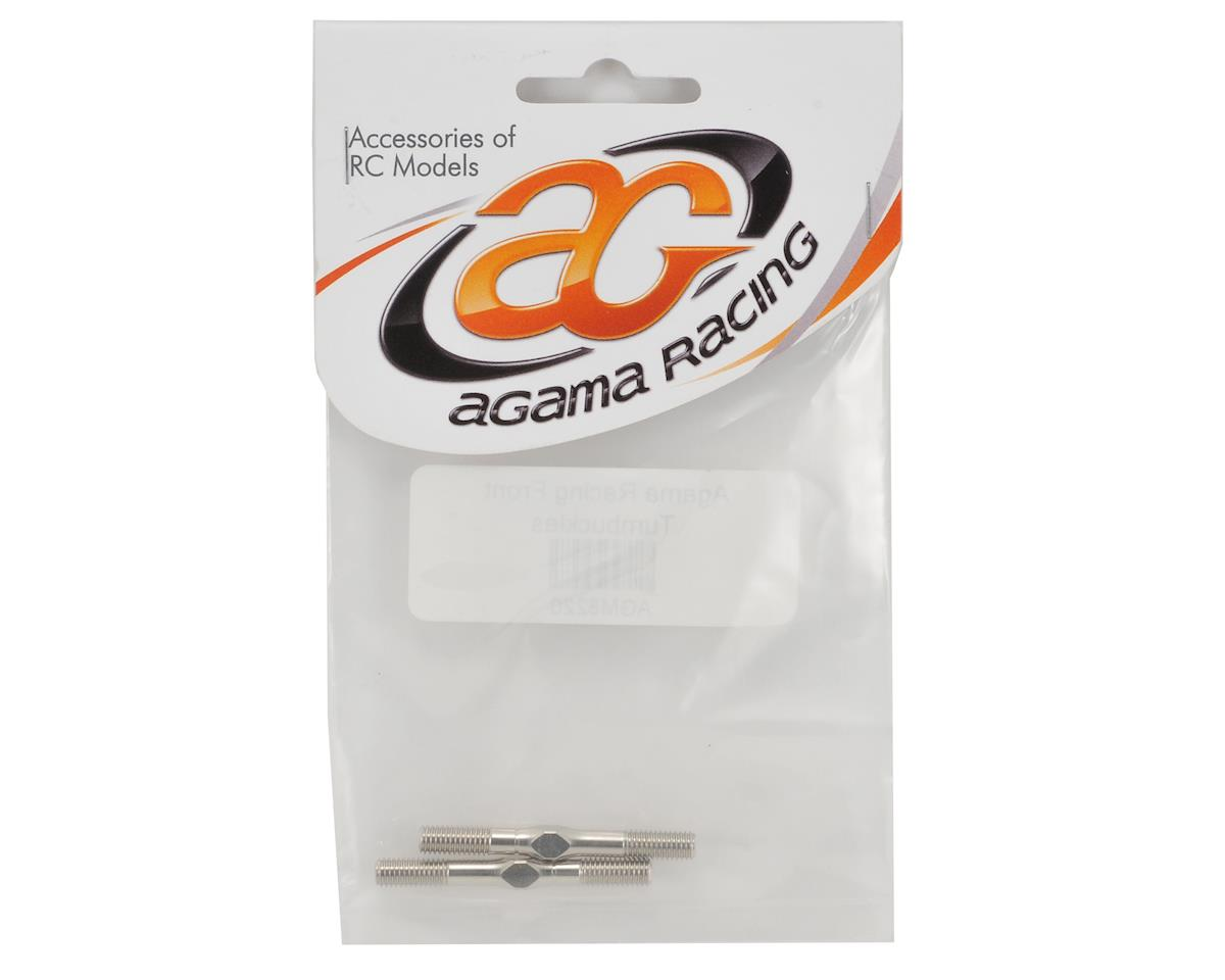 Agama Racing Front Turnbuckle Set (2)