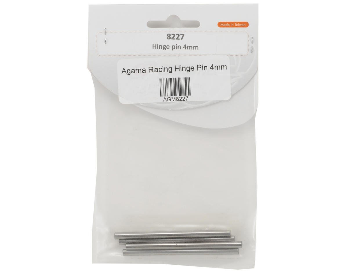 Agama Racing 4mm Hinge Pin Set (4)